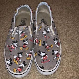 Mickey Mouse Disney slip on vans